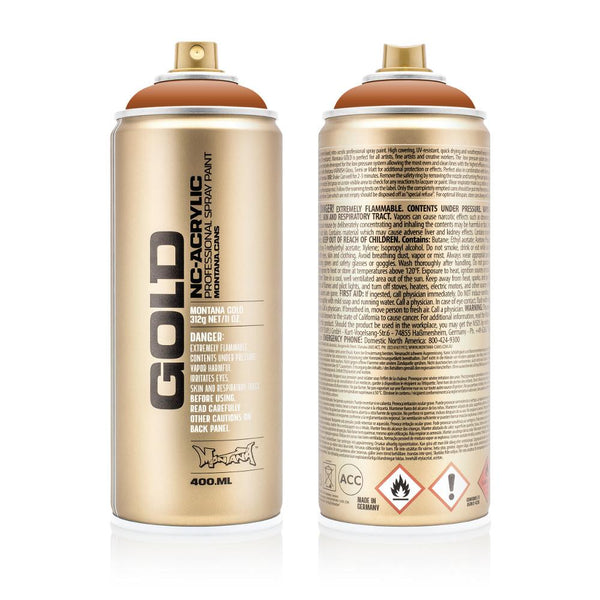 Montana Gold 400mL Spray Paint - Shock Brown Light