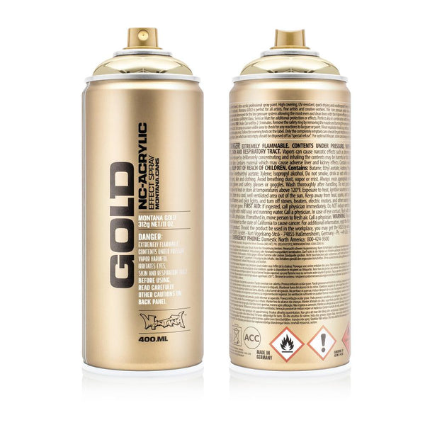 Midoco.ca: Montana GOLD 400mL Spray Paint - Goldchrome