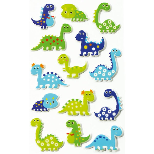 Midoco.ca: Cooky Stickers Dinosaurs