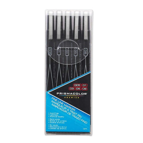Prismacolor Premier Fineline Illustration Markers Black
