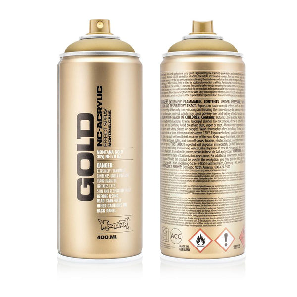 Montana Gold 400mL Spray Paint - Gold Matte