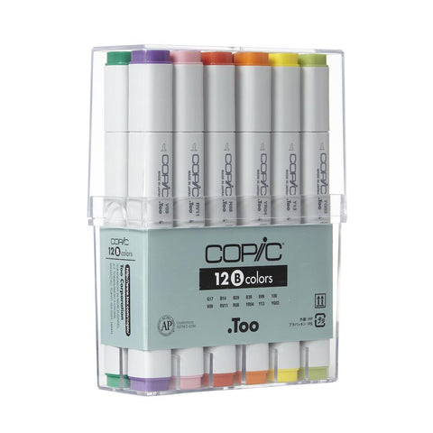Copic Classic Marker Basic Set 12pk