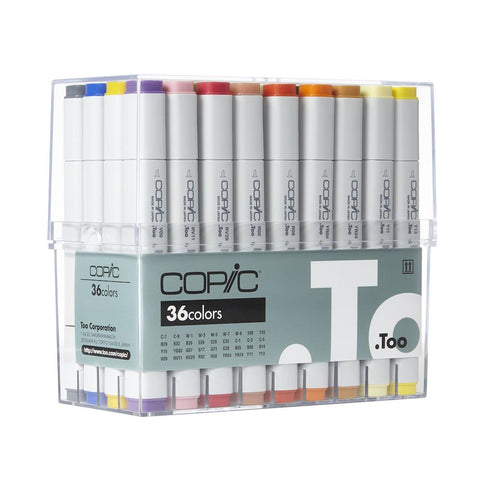Copic Classic Marker Set 36pk