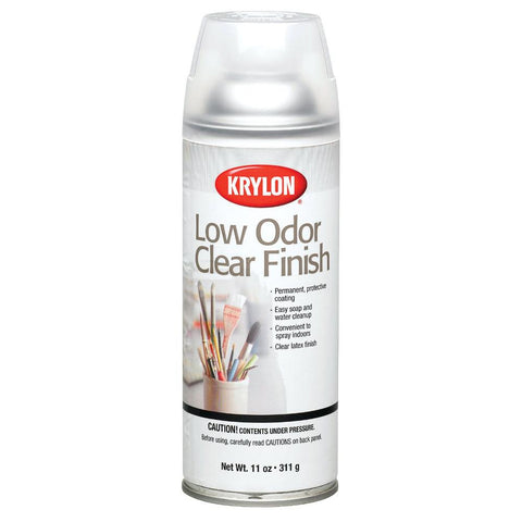 Krylon Low Odour Clear Gloss Spray