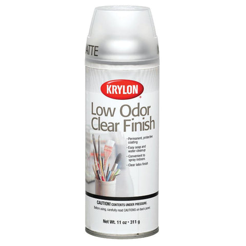 Krylon Low Odour Clear Matte Spray