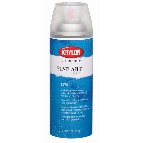 Krylon Fine Art Spray Fixatif
