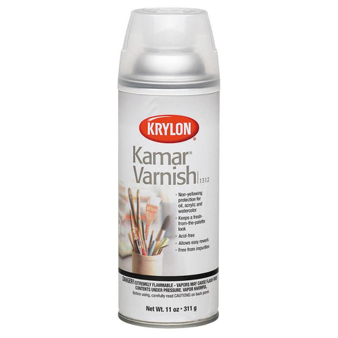 Krylon Kamar Varnish Spray