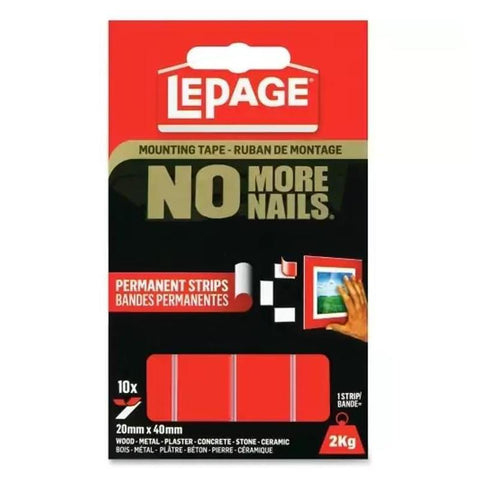 Midoco.ca: LePage Mounting Tape No More Nails 10pk