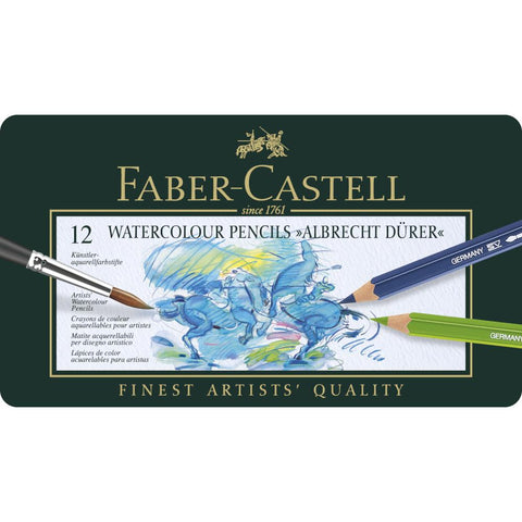 Faber Castell Albrecht Durer Watercolour Pencil 12 Set