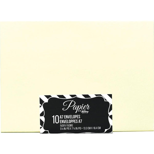 Midoco.ca: Hilroy Invitation Envelopes A7 Ivory 10pk
