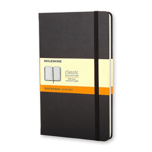 Moleskine Ruled Pocket Notebook - Black