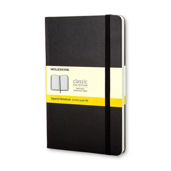 Moleskine Grid Pocket Notebook - Black