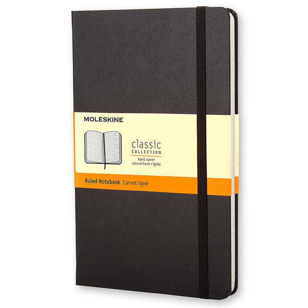 Moleskine Ruled Large Notebook - Black