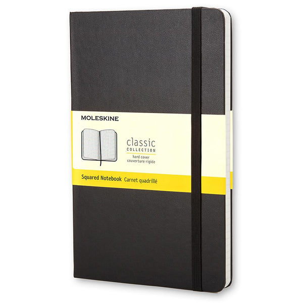 Moleskine Grid Large Notebook - Black