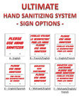 Ultimate Hand Sanitizing System