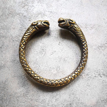 Deus serpent, bracelet ancien