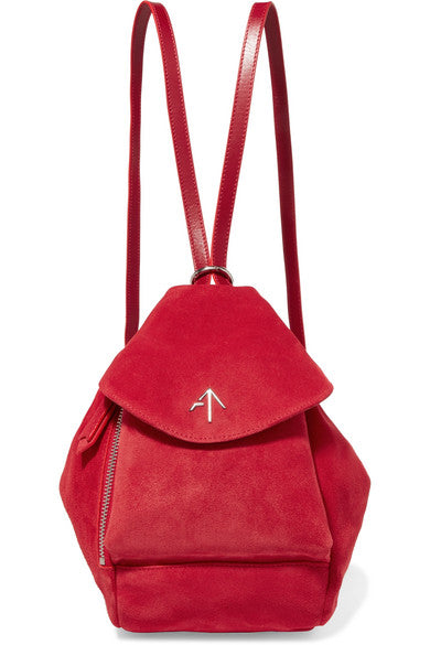 Fernweh Suede backpack