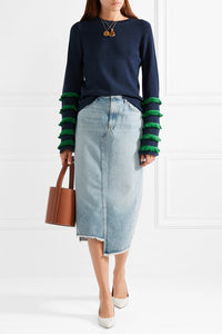 Marr Fringed Sweater