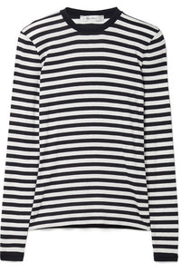 Favola striped jersey top