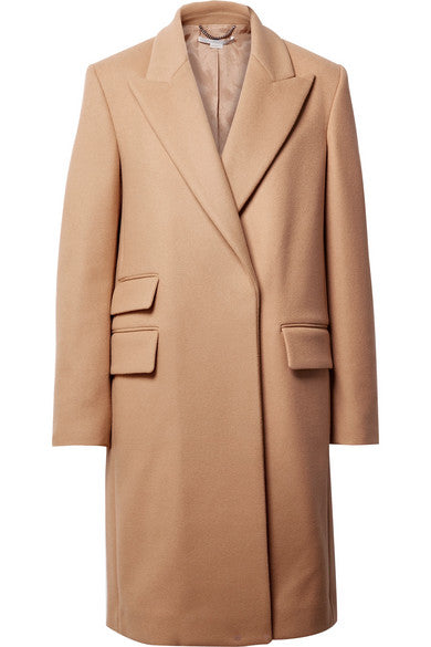 Melton Camel Coat