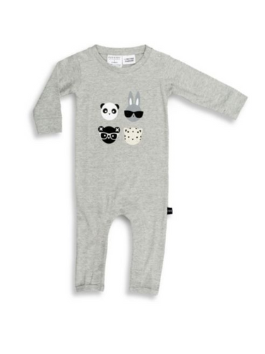 Baby's Animal Marle Romper