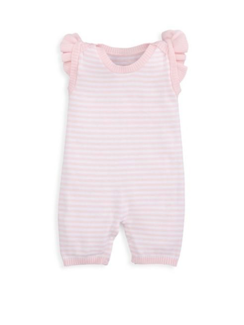 Mini Stripe Ruffle Shortall