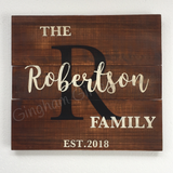 Personalized Family Sign - Small