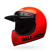 Bell Moto-3 Classic Orange