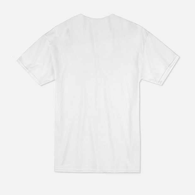T-shirt Blanc - SEVEN CLOTHING Holographique