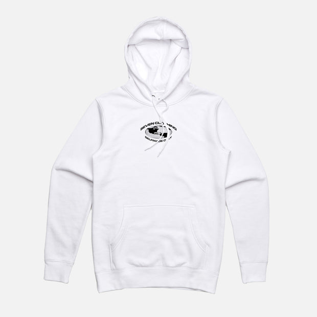 Hoodie Blanc - SELFMADE ONLY