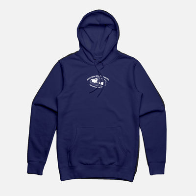 Hoodie Navy - SELFMADE ONLY