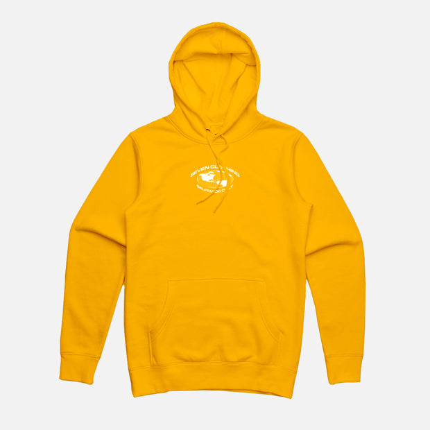 Hoodie Jaune - SELFMADE ONLY
