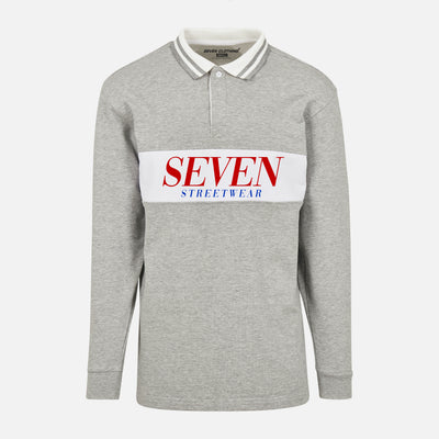 Polo Rugby - SEVEN Streetwear Red Logo