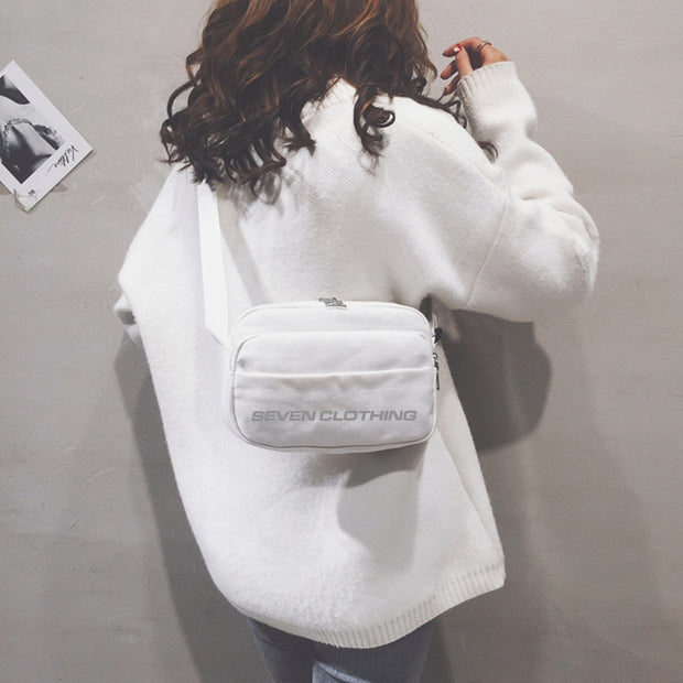 Shoulder Bag White - SEVEN CLOTHING