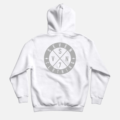 Hoodie White - OGO 2018 3M Réflective