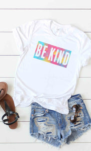 """Be Kind"" Tie Dye Tee"