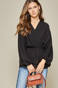Simply Beautiful Top - Color Black