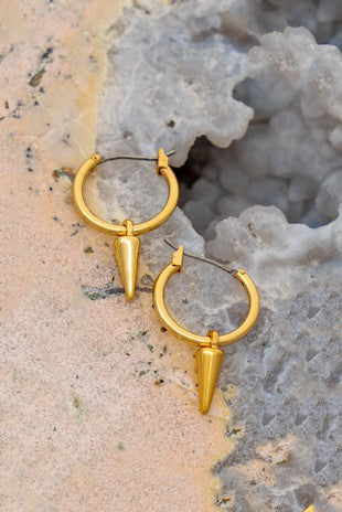 Cone Huggie Earrings