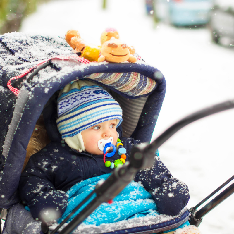 Best tips for keeping your baby warm this winter