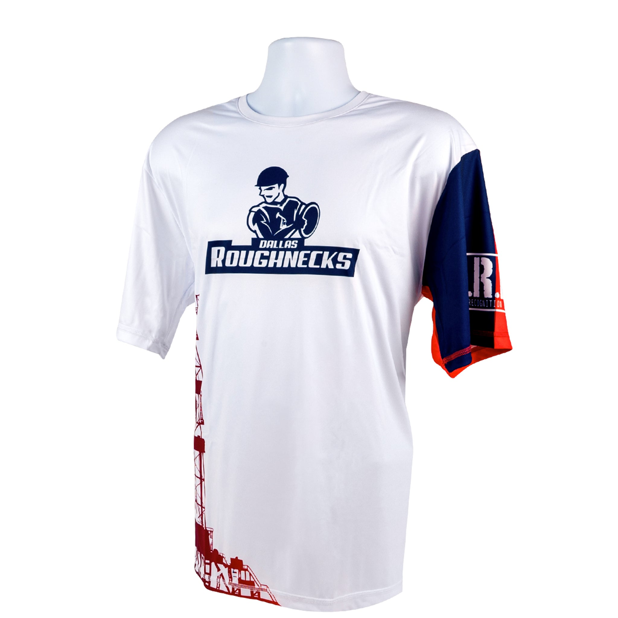 Short Sleeve White Jersey - Dallas