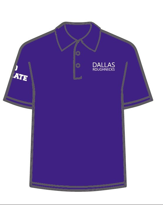 Roughnecks Polo - Purple
