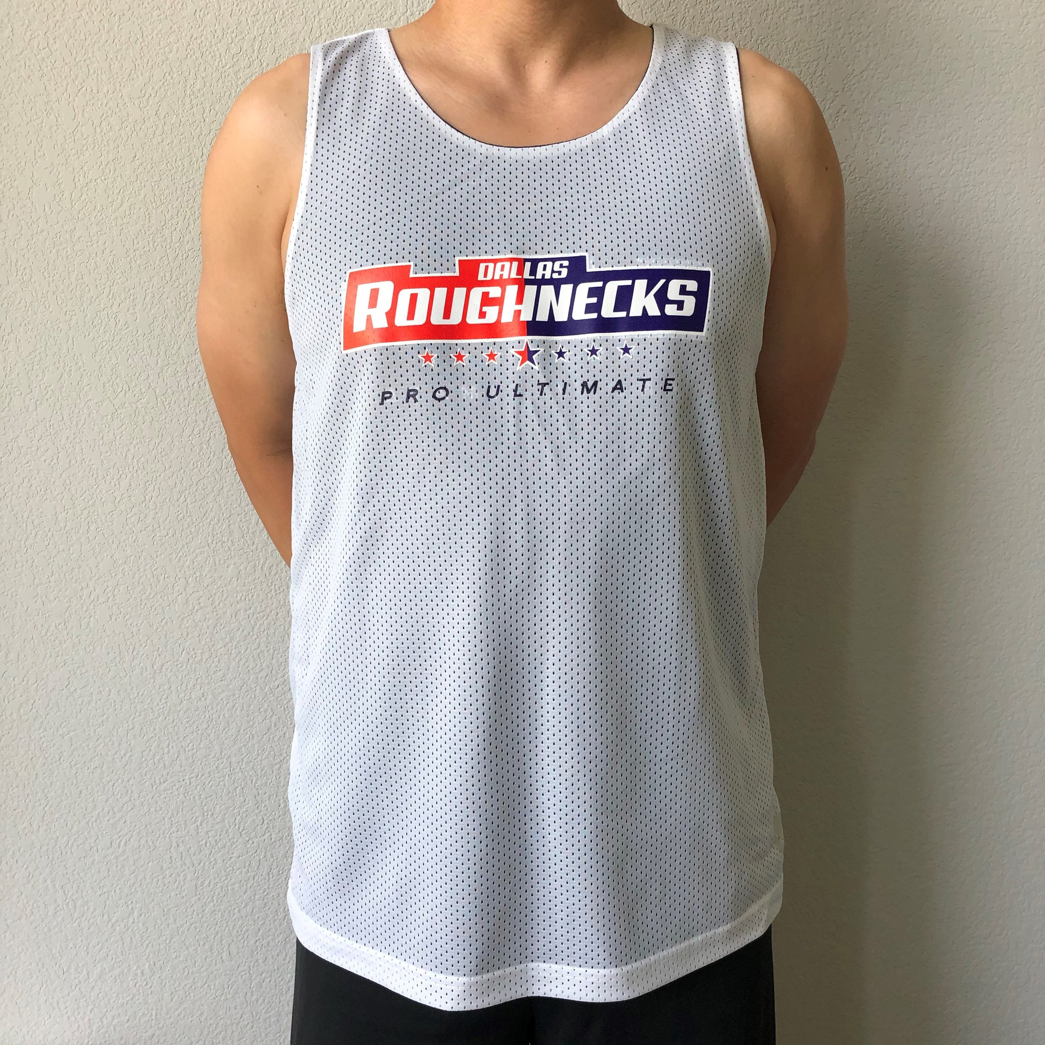 Reversible Tank Top - Navy/White