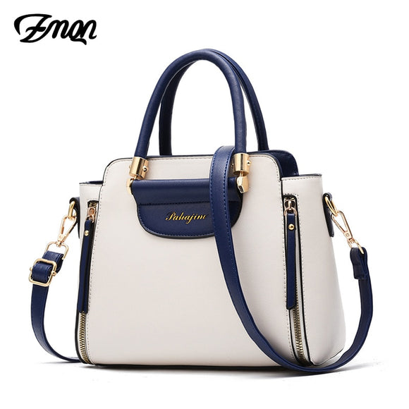 Women's Panelled Solid Shoulder Handbags