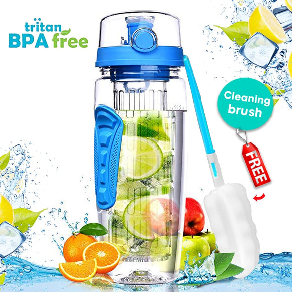 1000ml Fruit Infuser Water Bottle