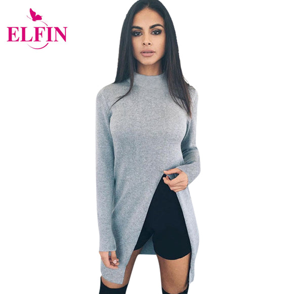 Fashion Sweater Women's Long Sleeve Top Knitted