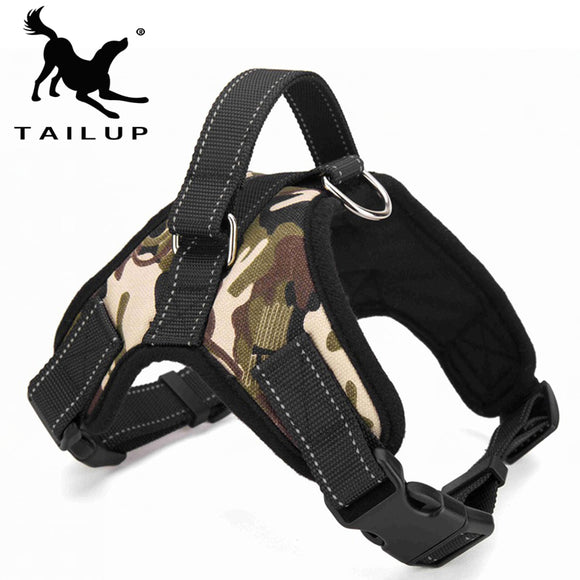 TAILUP Pet Products for Large Dog Harness k9 Glowing Led Collar Puppy Lead Pets Vest Dog