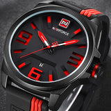 NAVIFORCE New Watch Men Sport Quartz Watches Colorful Fashion