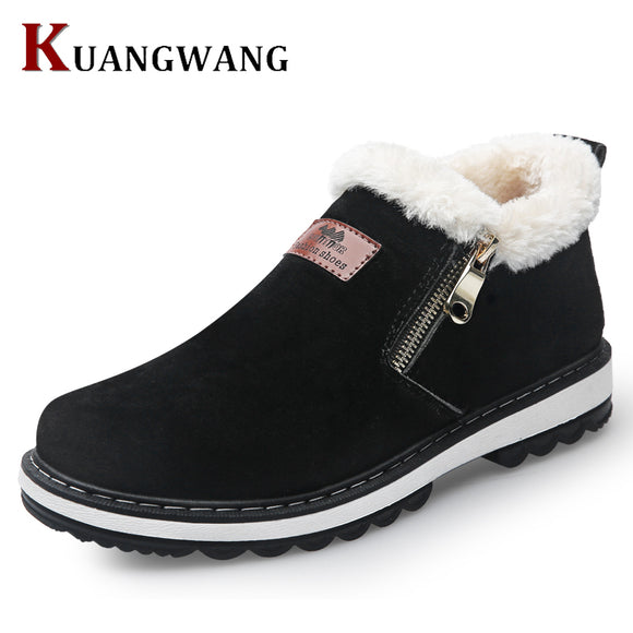 Men Fashion Boots Wear Resistant Handmade