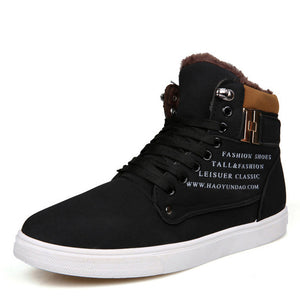 Casual Hot Men Merkmak Shoes Fashion Leather Footwear