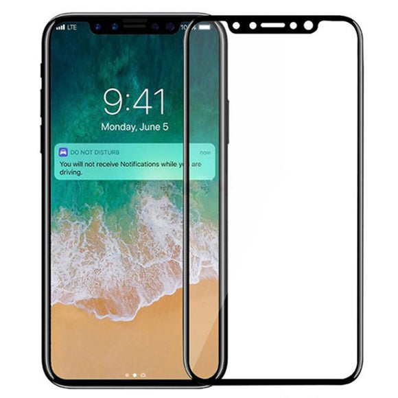 ShuiCaoRen For iPhone X Tempered Glass 3D 9H Full Screen Cover